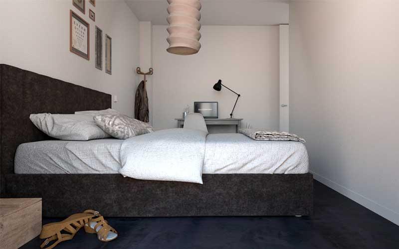 Promoción en Juan de Oñate | Vivienda 5 | Dormitorio 2
