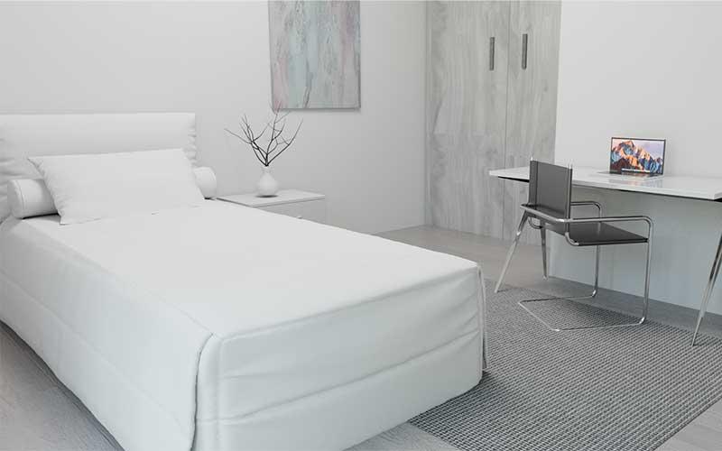Promoción en Juan de Oñate | Vivienda 9 | Dormitorio 2