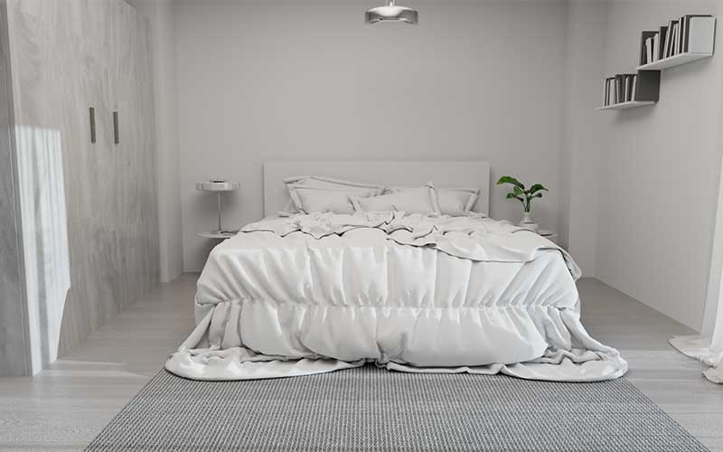 Promoción en Juan de Oñate | Vivienda 9 | Dormitorio