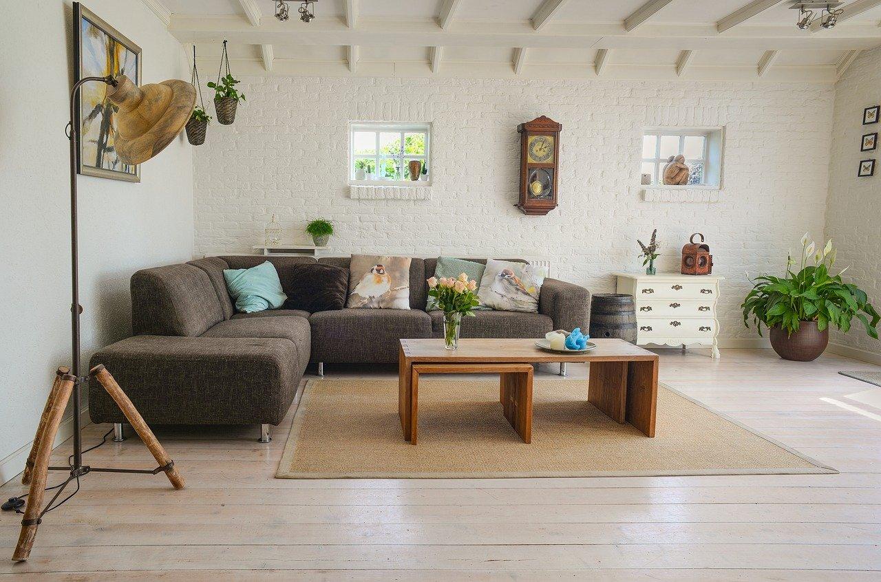 sofa contra la pared promoción obra nueva