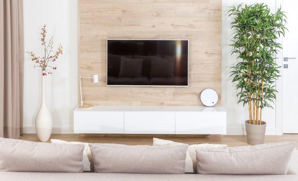 televisor en pared promoción obra nueva