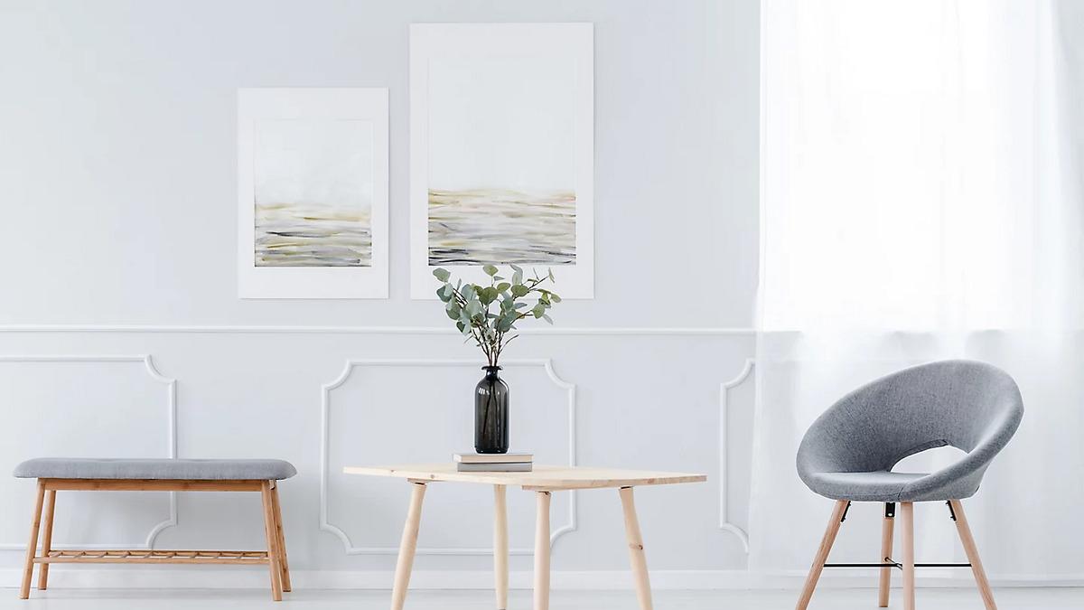 ideas decorar las paredes de casa relieves promoción obra nueva