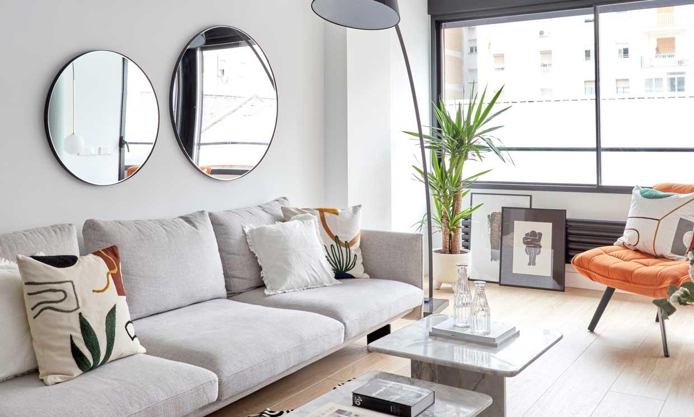 ideas para decorar las paredes de casa espejos promoción obra nueva